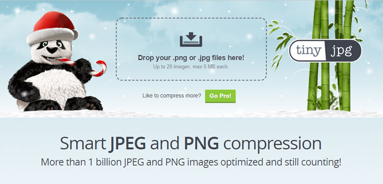 TinyJPGトップページ